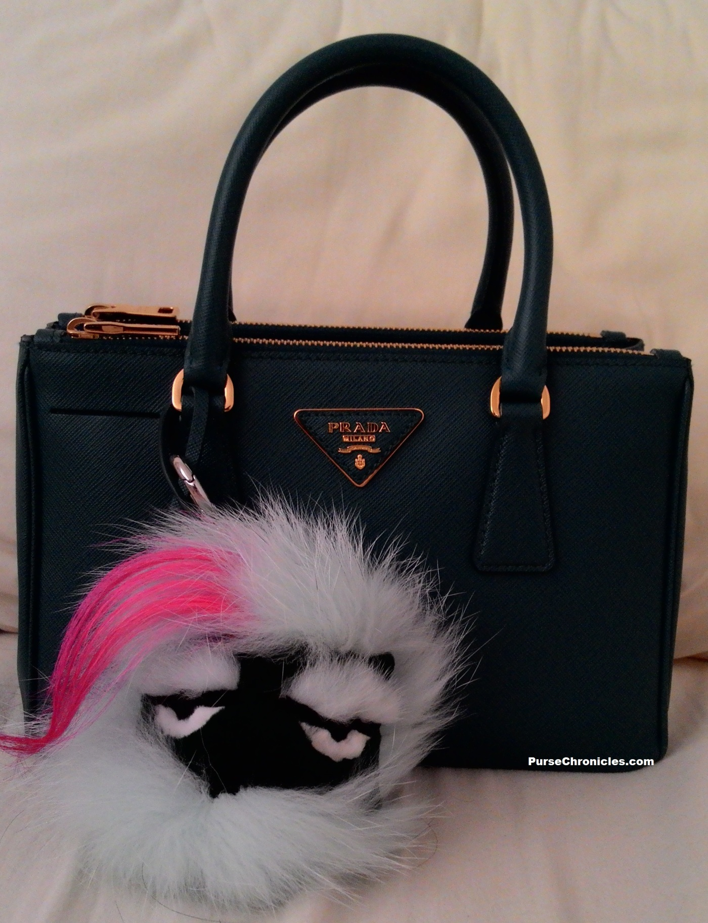 dff52d5c5ab1 Bag Review  Prada Saffiano Double-Zip Tote (BN2316)